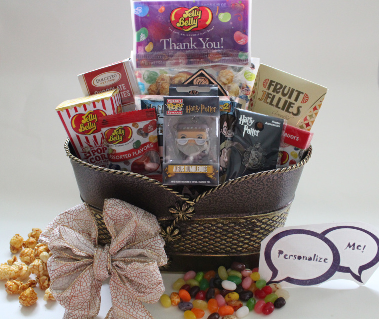 Harry Potter Thank You Gift Basket