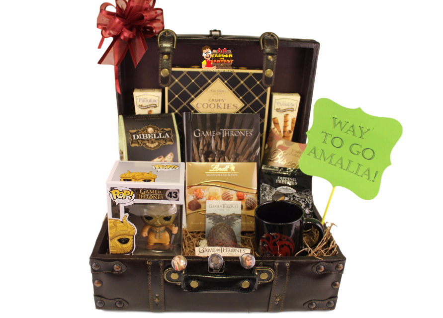game of thrones gifts of thrones gift basket 29576